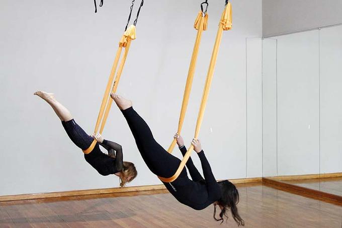 Фотографии - Гравити йога в Москве - фитнес-клуб «МультиСпорт»