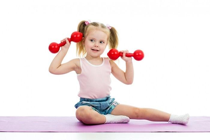 Детский фитнес для дошкольников - изображение