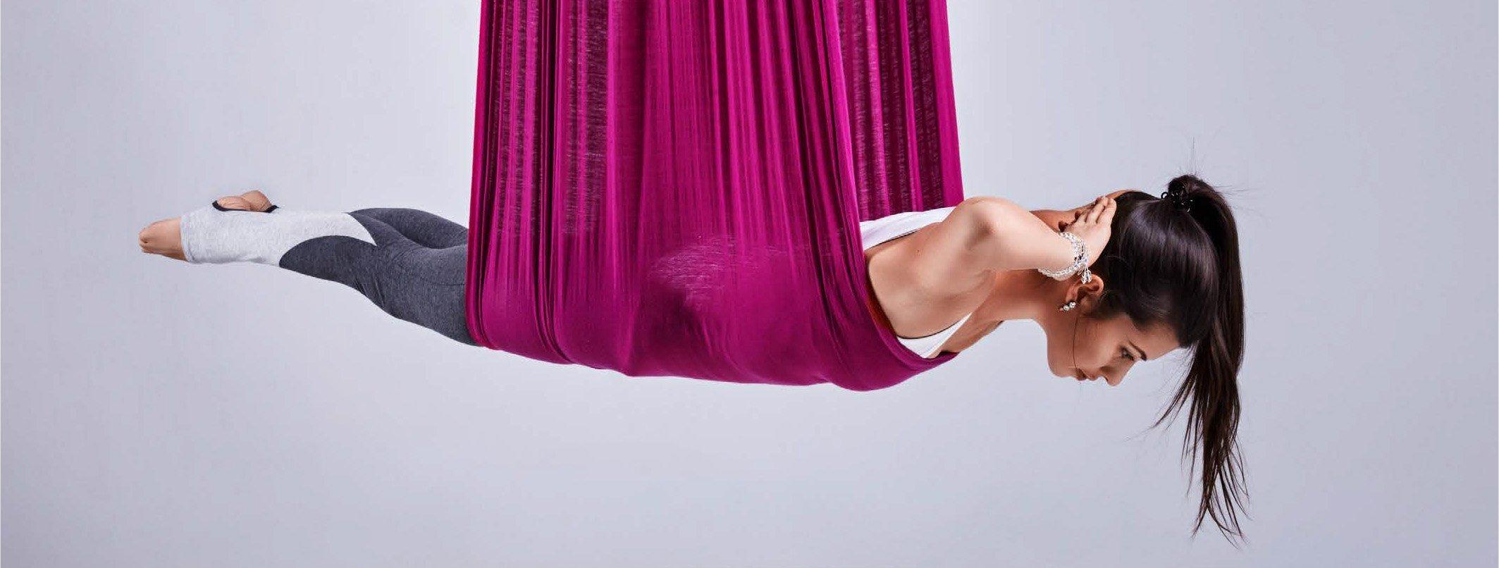 Fly yoga - изображение
