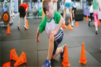 Детский фитнес для похудения - изображение