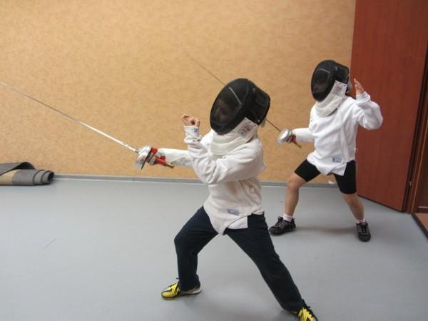 Секция фехтования для детей - изображение