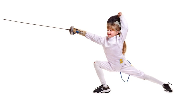 Обучение детей фехтованию - изображение