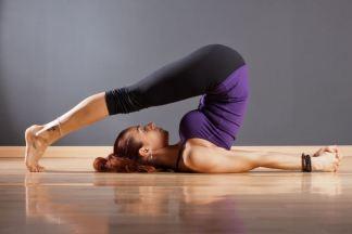 Йога для похудения ног и ягодиц - изображение