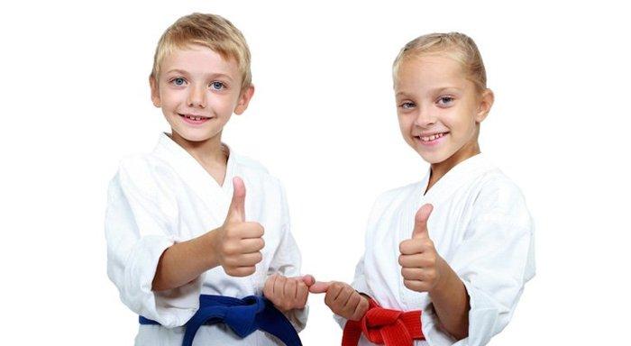 Секция тхэквондо для детей - изображение
