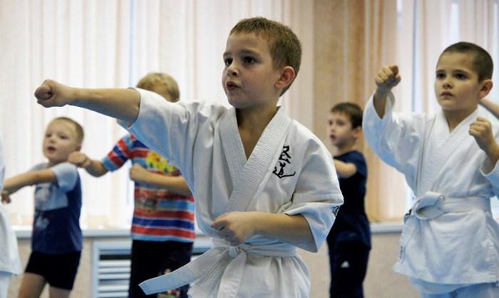 Тренировки по тхэквондо для детей - изображение