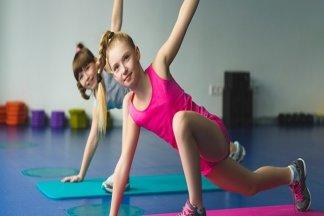 Фитнес-клуб для детей и подростков - изображение