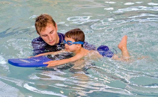 Обучение детей плаванию - изображение