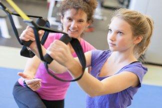 Индивидуальные занятия фитнесом для детей - изображение