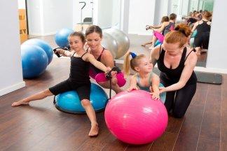 Детская фитнес-студия в Москве - изображение