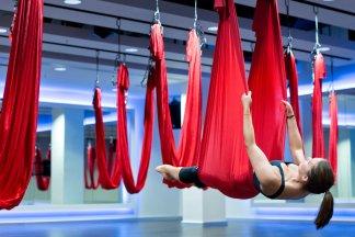 Гравити йога в Москве - изображение