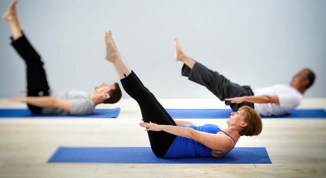 Фотографии - Пилатес для новичков - фитнес-клуб «МультиСпорт»
