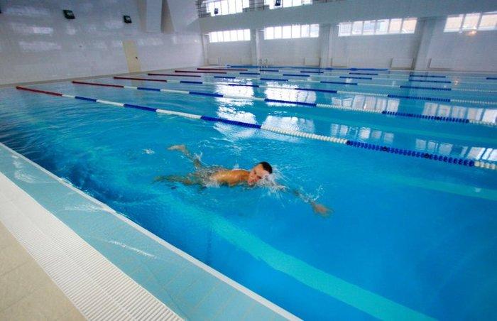 Карта в фитнес-центр с бассейном - изображение