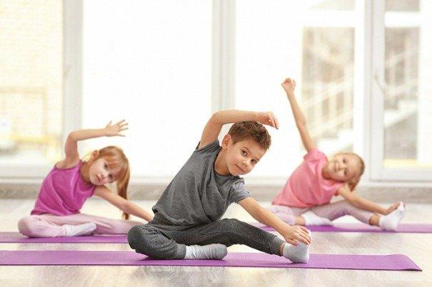 Фитнес-клуб для детей 6-7 лет - изображение