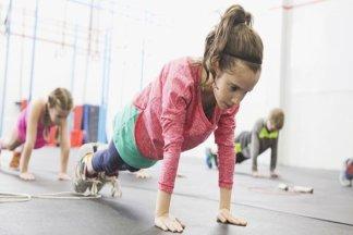 Фитнес-клуб для детей 8-9 лет - изображение