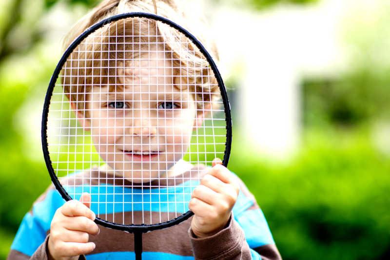 Секция бадминтона для детей - изображение