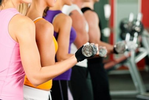 Занятия фитнесом в мини-группах - изображение